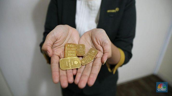 Terendah Dalam 3 Minggu, Harga Emas Tertekan Dolar AS | Rifan Financindo