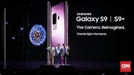 FOTO: Riuh 'Pendaratan' Samsung Galaxy S9 dan S9+