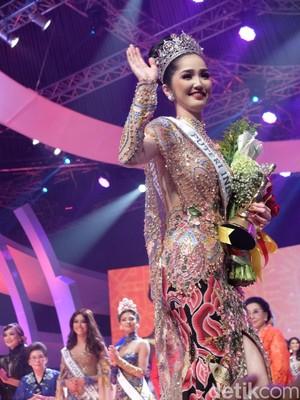 Sonia Fergina Citra dari Bangka Belitung Juara Puteri Indonesia 2018