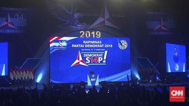 Dalam orasi politiknya, Komandan Kogasma Agus Harimurti Yudhoyono (AHY) banyak menyamapaikan soal kesiapan Partai Demokrat memenangi Pemilu 2019.