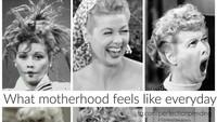 <p>Ini rasanya menjadi ibu tiap hari. (Foto: Instagram @perfectending)<br /><br /></p>