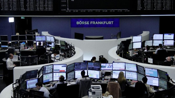 Banyak Sentimen, Bursa Eropa Ditutup Bervariasi