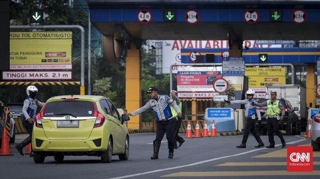 Seusai simulasi lalu lintas, kepolisian memutuskan hanya tujuh pintu tol yang akan dikenakan sistem buka-tutup selama Asian Games 2018.