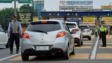 GT Bekasi Barat Tak Disekat, Kendaraan Bebas Masuk Tol