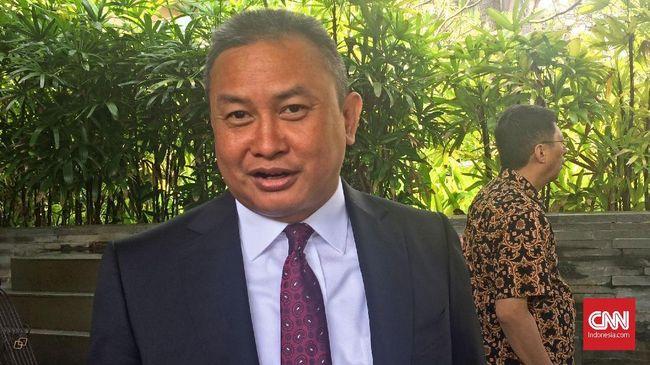 Kepala Eksekutif Pengawas OJK Hoesen mengaku diminta keterangan Kejagung soal kasus Jiwasraya.