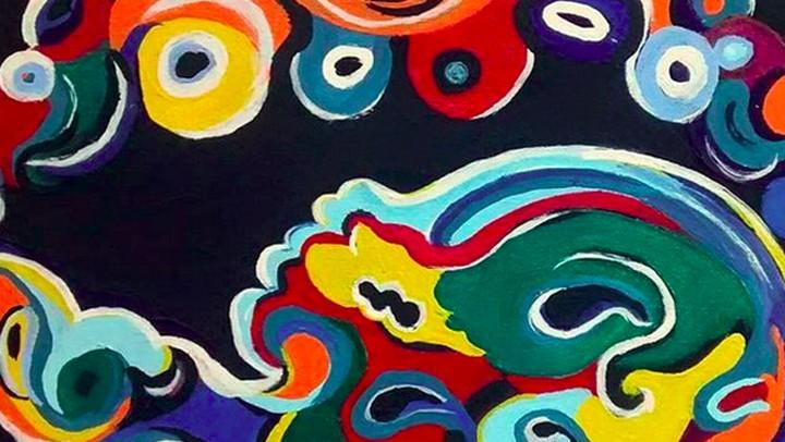 <p>Lukisan USG ini adalah hasil karya bunda tiga anak Laura Steeman. (Foto: Instagram/ @quaintbaby_ultrasoundart)</p>