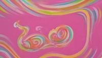 <p>Atau yang ini. Warna pastel menunjukkan si calon bayi adalah sosok yang kalem. (Foto: Instagram/ @quaintbaby_ultrasoundart)</p>