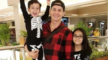 Happy! Saat Marcelino Lefrandt Habiskan Waktu Bareng 2 Anaknya
