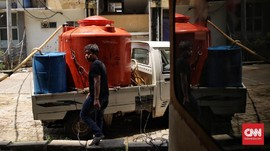 PDAM Setop Aliran Air ke Depok Timur, Pipa Bocor