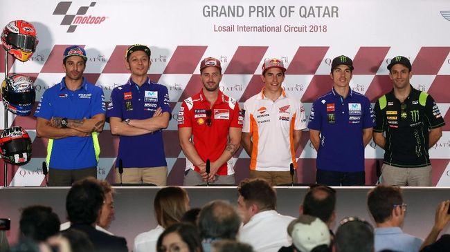 Pebalap Movistar Yamaha, Valentino Rossi, diklaim bukan satu-satunya pebalap yang membenci juara bertahan MotoGP Marc Marquez.