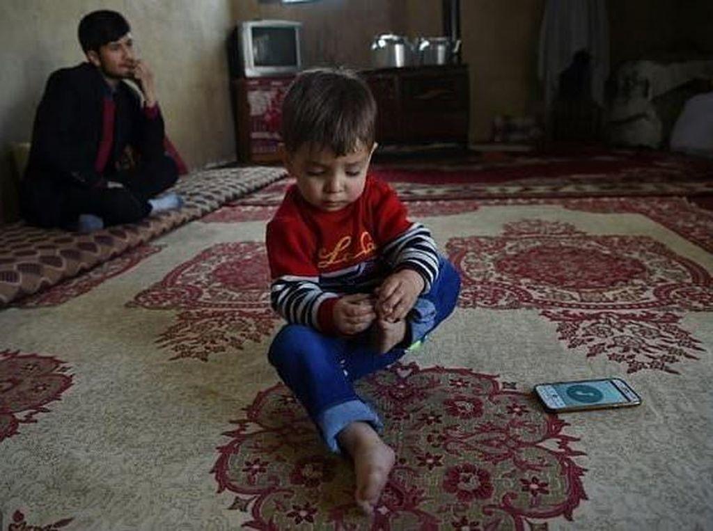 Foto: Ini Bayi 'Donald Trump' yang Bikin Heboh Afghanistan