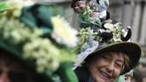 St Patrick's Day yang berlangsung setiap 17 Maret menandakan kegembiraan atas kesuksesan misi salib sang penyebar injil di bumi Irlandia tersebut.