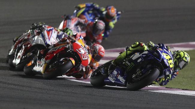 Rossi Lebih Buruk, Marquez Lebih Baik di Awal MotoGP 2018