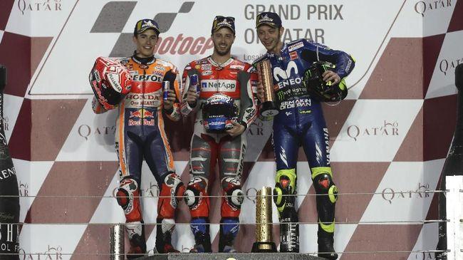 Sindiran Kocak Valentino Rossi untuk Marc Marquez