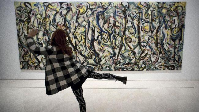 Lukisan Jackson Pollock yang dijual sudah ada sejak 1950 dan diprediksi bisa terjual dengan harga US$25 juta atau Rp344 miliar.