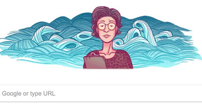 Google doodle mengenang kelahiran sosok ahli geokimia asal Jepang, Katsuko Saruhashi.
