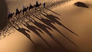 Gurun Sahara Bersalju, Suhu Udara Turun Drastis