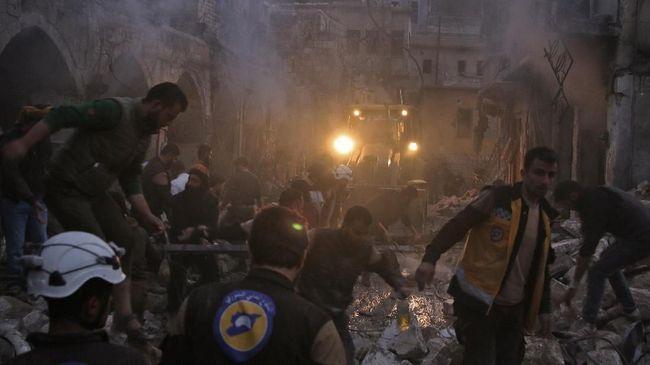 8 Orang Tewas Akibat Rudal Serang Sekolah Tampung Pengungsi Suriah