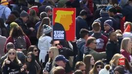 VIDEO: Demo Desak Pengaturan Senjata Menggema di AS