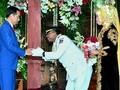 Jokowi Kondangan ke Mantan Ajudan saat Jadi Gubernur