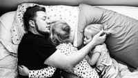 <p>Kadang para ayah juga kangen lho dengan masa-masa seperti ini. (Foto: Instagram/ @stephwoodwardphotos) </p>