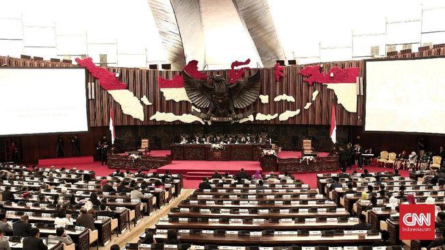 Persaingan meraih kursi Ketua MPR menjadi arena milik Partai Gerindra dan Partai Golkar dengan dalihnya masing-masing, yakni rekonsiliasi vs proporsionalitas.