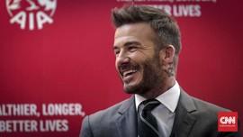 Kunjungi Jakarta, David Beckham Bongkar Rahasia Tubuh Sehat