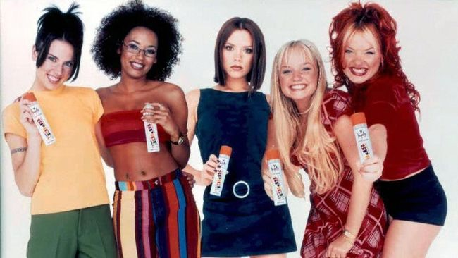 The Spice Girls get fresh. See STYLE Column. / AFP PHOTO / PA / PA