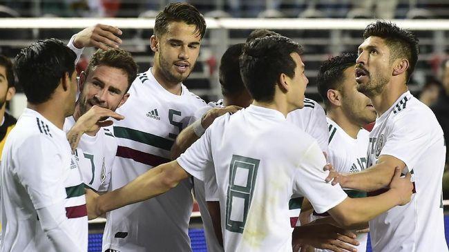 Timnas Meksiko yang sudah 15 kali tampil di Piala Dunia berupaya menembus fase krusial setelah selalu mentok di babak perdelapan final pada enam edisi terakhir.