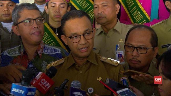 Gubernur DKI Jakarta Anies Baswedan menyatakan Asian Games 2018 tidak termasuk aktivitas komersial, sehingga tidak perlu dikenakan pajak.