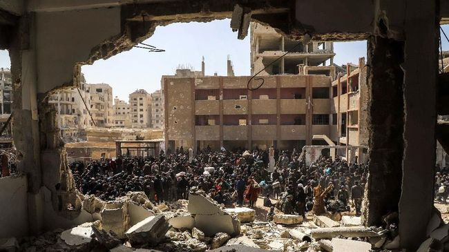 Perang saudara di Suriah yang telah berlangsung selama 10 tahun menewaskan setidaknya 388.652 orang.