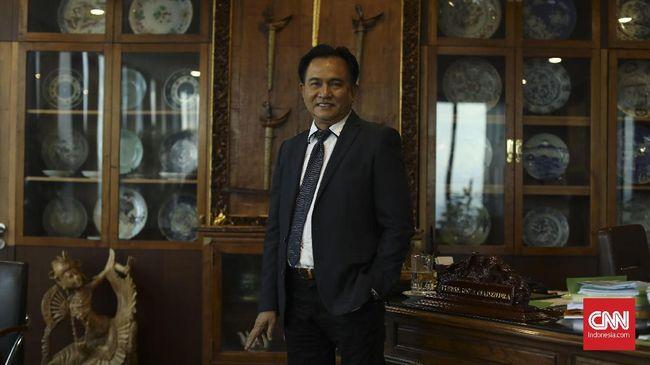 Tim Prabowo-Sandi: Semoga Yusril Bahagia Bersama Jokowi ...