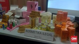 BPOM Ungkap Peredaran Kosmetik Ilegal Senilai Rp8,4 Miliar