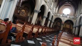 Cegah Corona, Umat Gereja yang Batuk Diminta Tinggal di Rumah