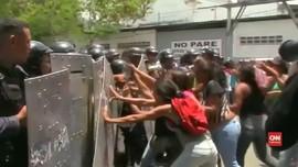 VIDEO: Bentrok di Sel Kantor Polisi Venezuela, 68 Orang Tewas