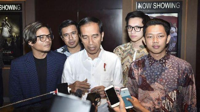 Nonton Yowis Ben Jokowi Minta Perfilman Libatkan Siswa Smk