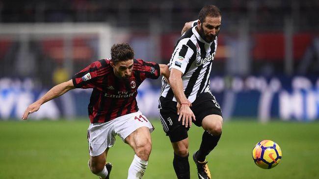 Juventus vs AC Milan Merebut Piala Coppa Italia
