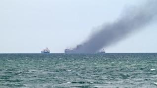 Dua Orang Meninggal dalam Kebakaran Kapal di Balikpapan