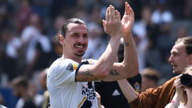 Ibrahimovic: 'Film' Saya di MLS Dimulai dengan Baik