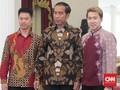 Marcus Gideon Beri Undangan Pernikahan ke Presiden Jokowi