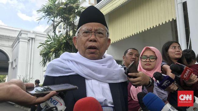 Ketua Umum Golkar Airlangga Hartarto menghormati keputusan Jokowi memilih Ma'ruf Amin sebagai cawapres 2019. Golkar mengaku tak terbebani dengan Ma'ruf.