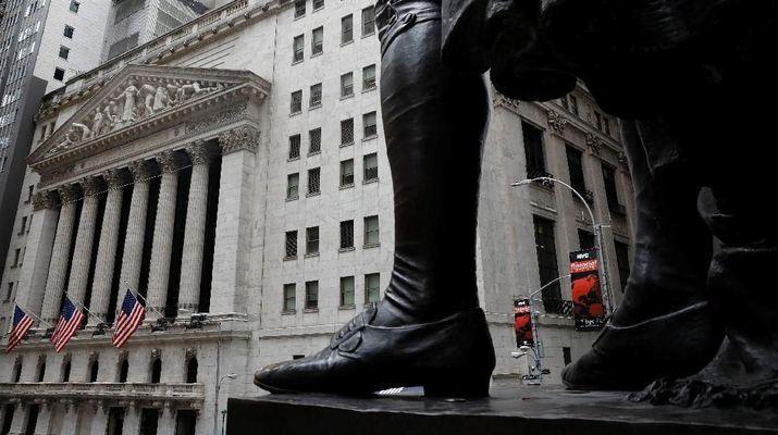 IMF Pangkas Proyeksi Pertumbuhan Global, Wall Street Koreksi