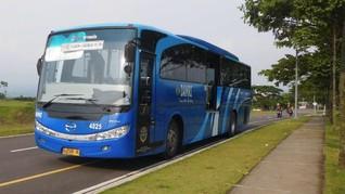 Larangan Mudik, Damri Setop Layanan Bus Soekarno-Hatta
