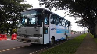 Ikuti Larangan Mudik, DAMRI Lampung Setop Operasi Bus AKAP
