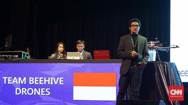 Drone karya mahasiswa asal Indonesia menjadi salah satu finalis yang akan melangkah ke Imagine Cup di Seattle pada Juli mendatang.