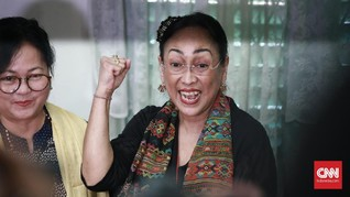 Hakim PN Jaksel Tolak Praperadilan SP3 Kasus Sukmawati