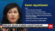 Rekam Jejak Karen Agustiawan