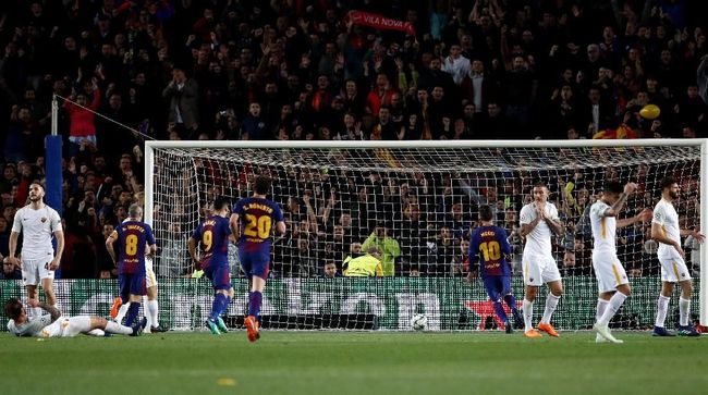 Barcelona Dibantu Lima Gol Bunuh Diri di Liga Champions