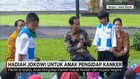 Presiden Jokowi Piknik Bersama Anak-anak Penderita Kanker