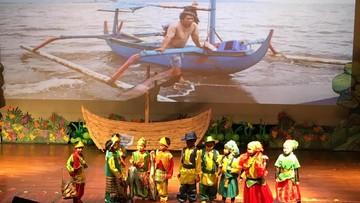Gemas, Aksi Anak-anak TK Saat Bermain Operet